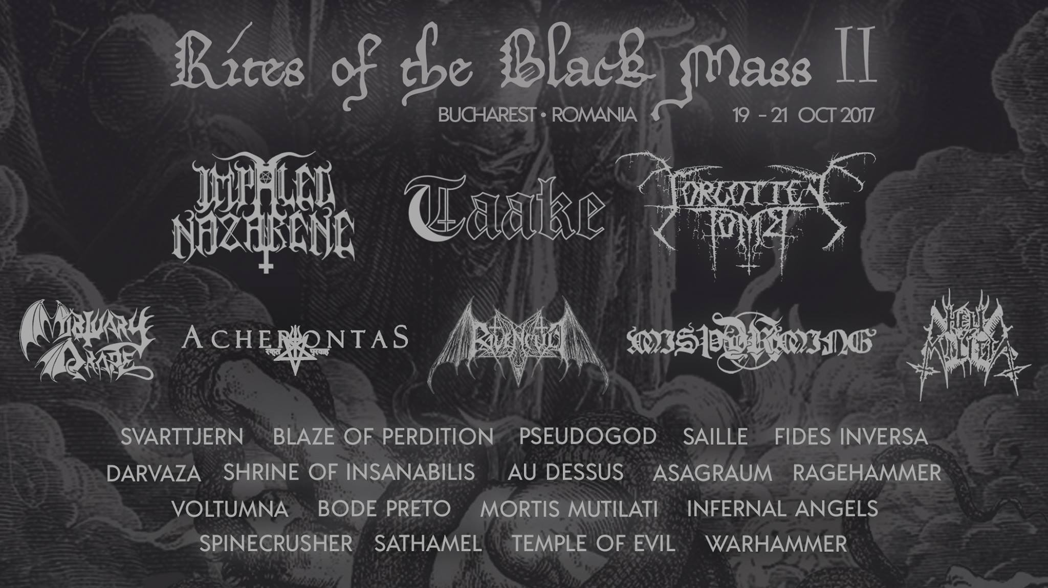 /Rites of the Black Mass II, 19 - 21.10.2017